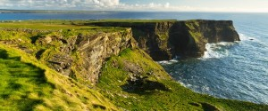 Falaises en Irlande