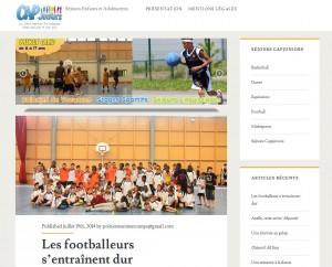 Le blog des colonies et stages sportifs à Poitiers