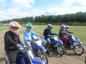 Stage de moto cap juniors