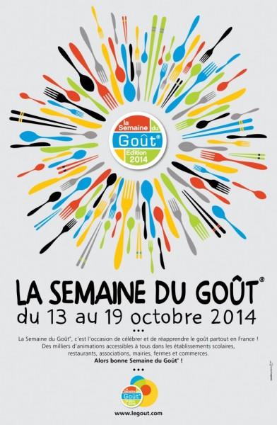 Affiche de la semaine du goût 2014