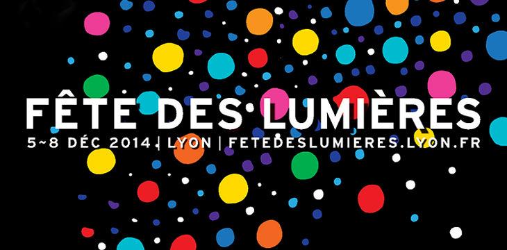 Affiche de la Fête des Lumières Lyon 2014