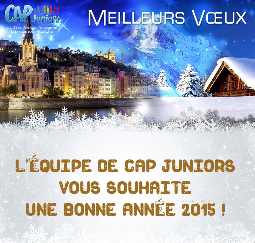carte de voeux 2015 cap juniors