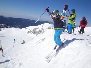 colonie de vacances ski Cap Juniors