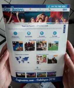 Catalogue 2016 des colonies de vacances Cap Juniors